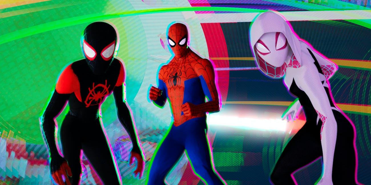 Spider-Man Spider-verse Golden Globes