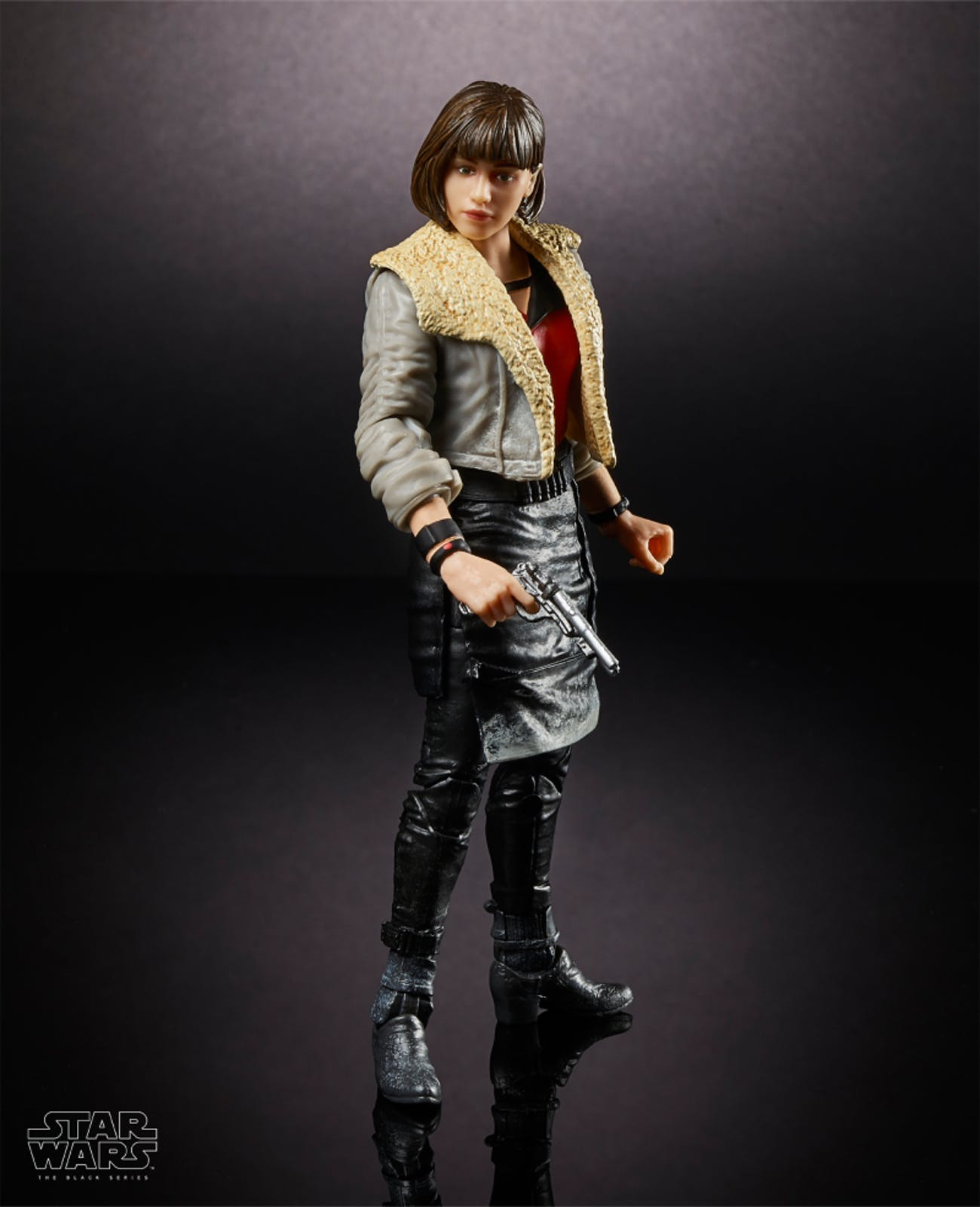 The toy version of Emilia Clarke's Qi'ra.