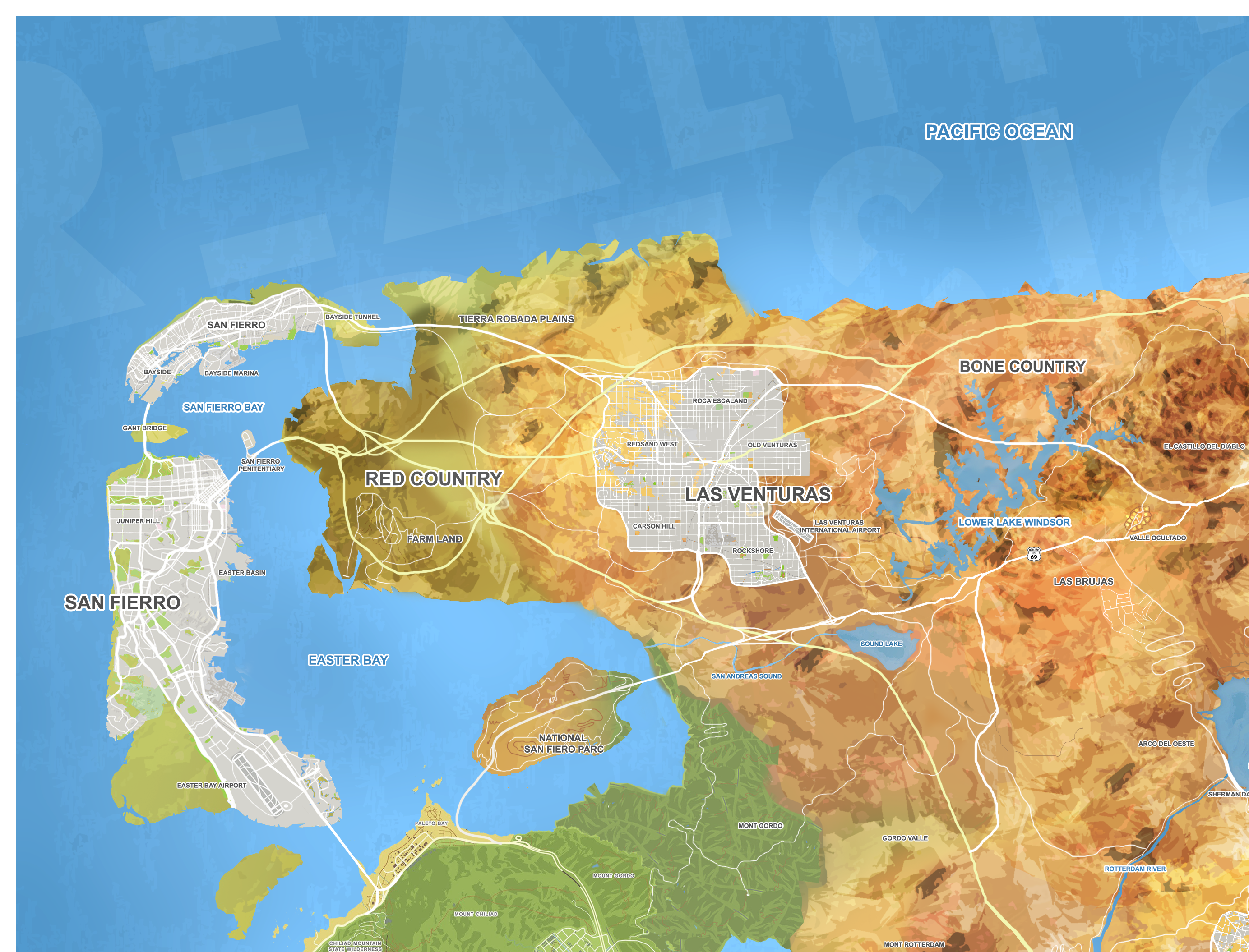 GTA 6' Leaks Inspire Fan-Made Maps Bringing the Rumored Game