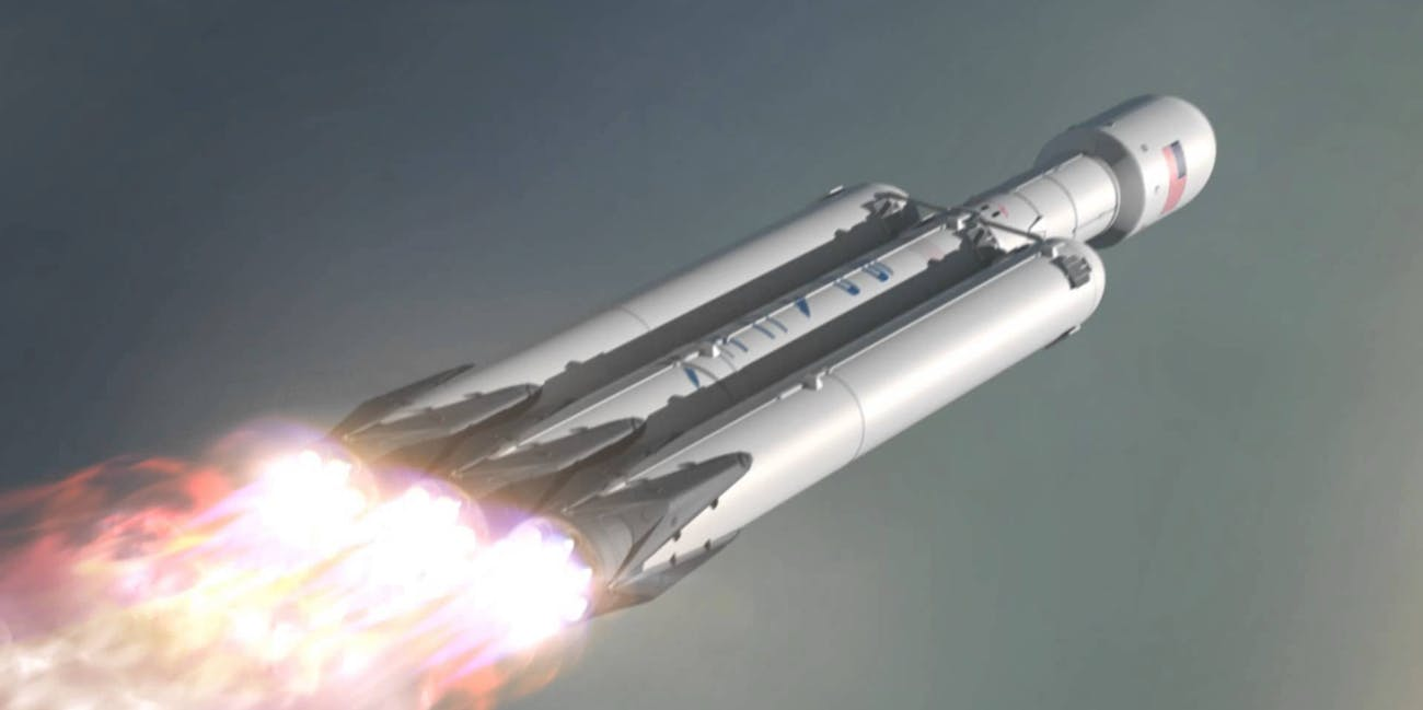 SpaceX's Elon Musk Isn't Optimistic About the Falcon Heavy ...