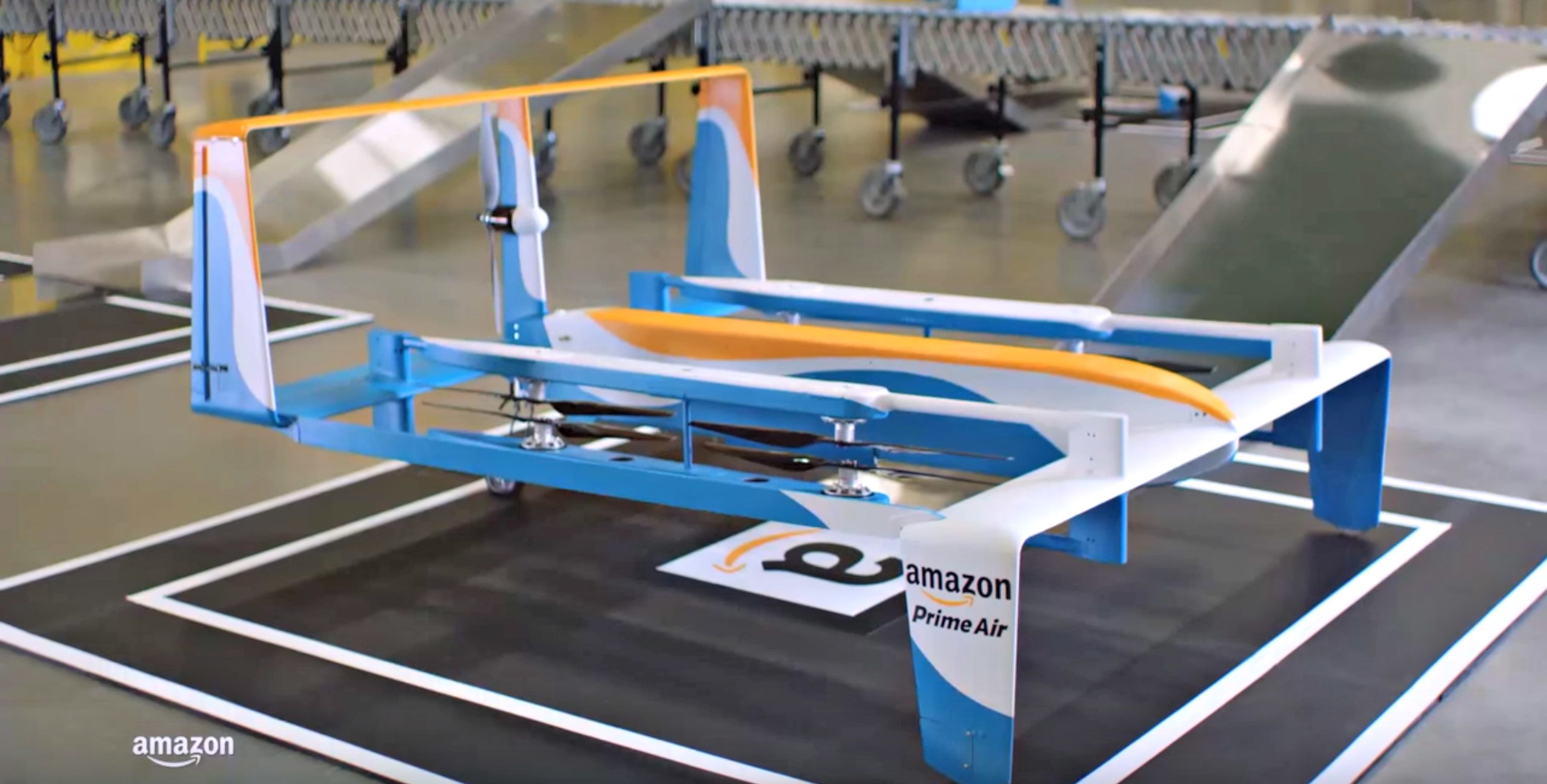 Jeremy Clarkson unveils new Amazon delivery drone