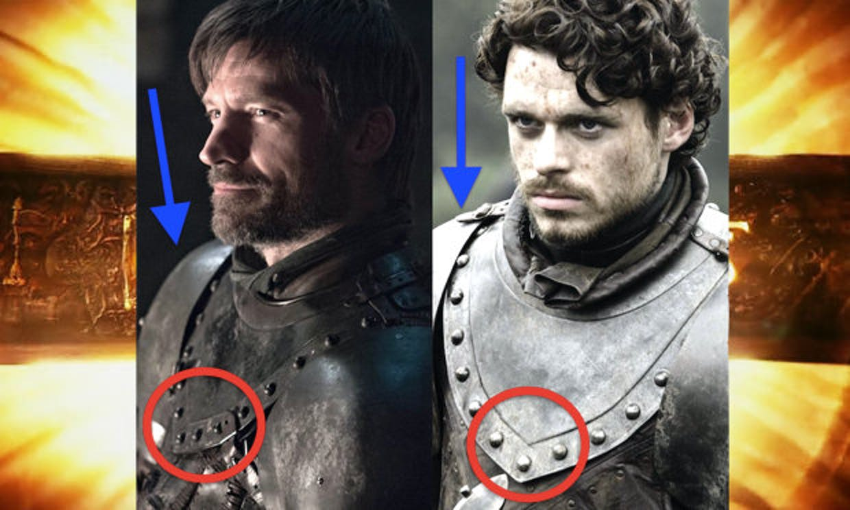 game of thrones season 8 spoilers jaime photo easter egg robb stark