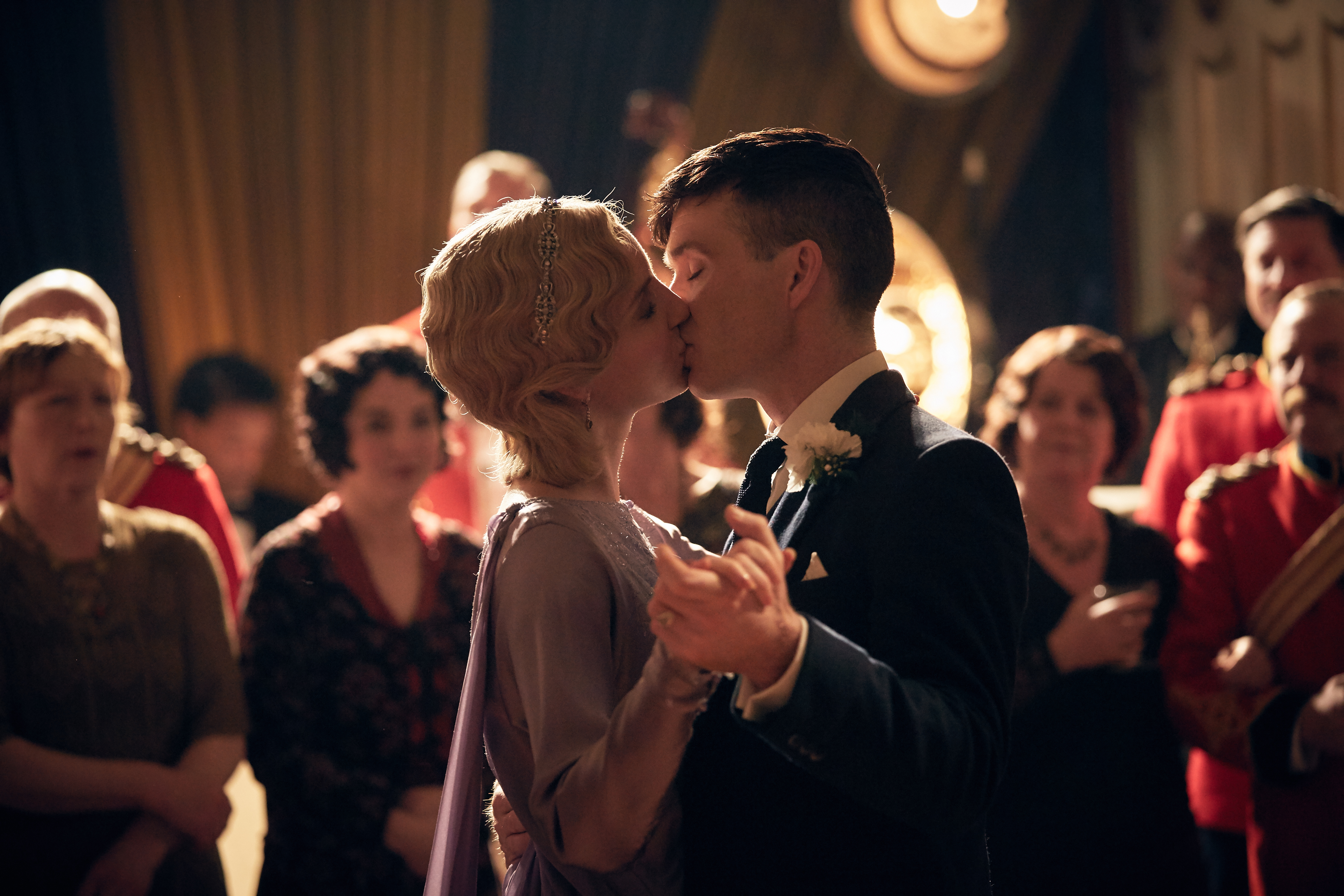 Things like marriage just couldn't last for Tommy Shelby.