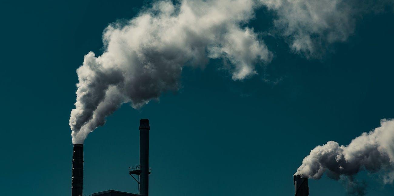 smoke stacks carbon climate