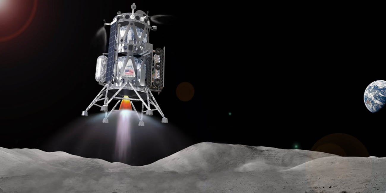 Intuitive Machines Concept for a Commercial Lunar Lander