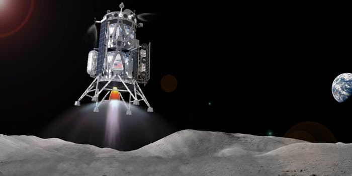 Intuitive Machines Concept for a Commercial Lunar Lander