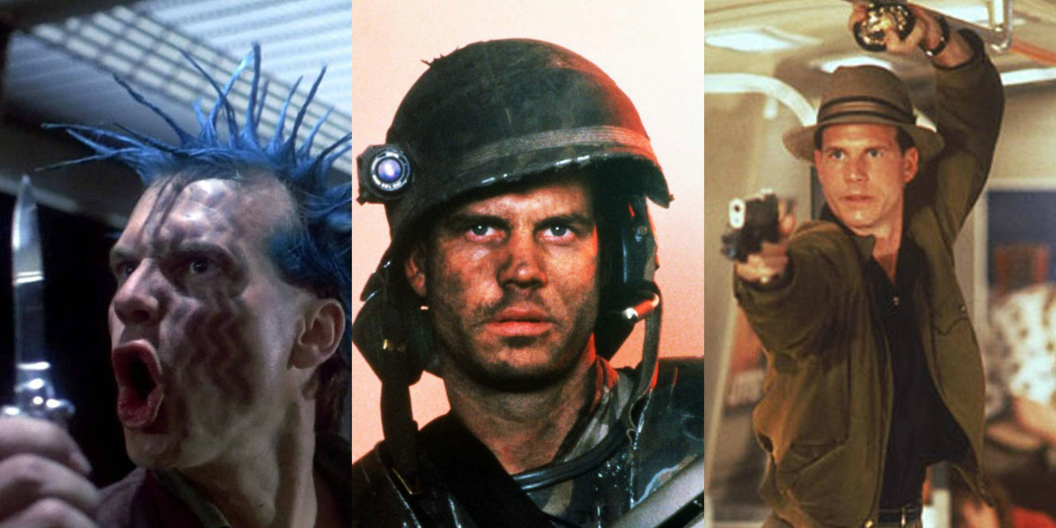 Paxton is the only actor whose characters had been killed by modern sci-fi's greatest monsters: The Terminator, Alien, Predator.