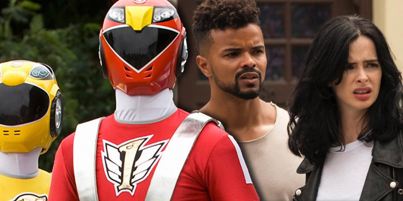 Power Rangers Eka Darville Jessica Jones