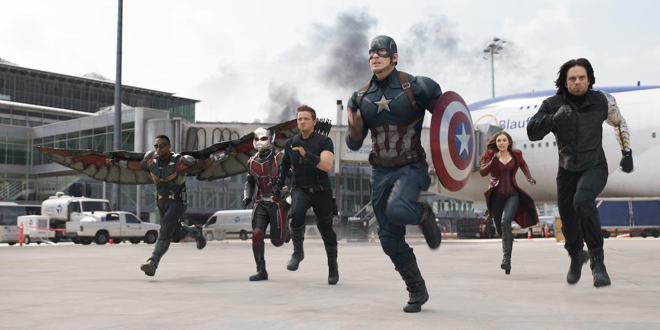 Captain America Civil War Marvel MCU