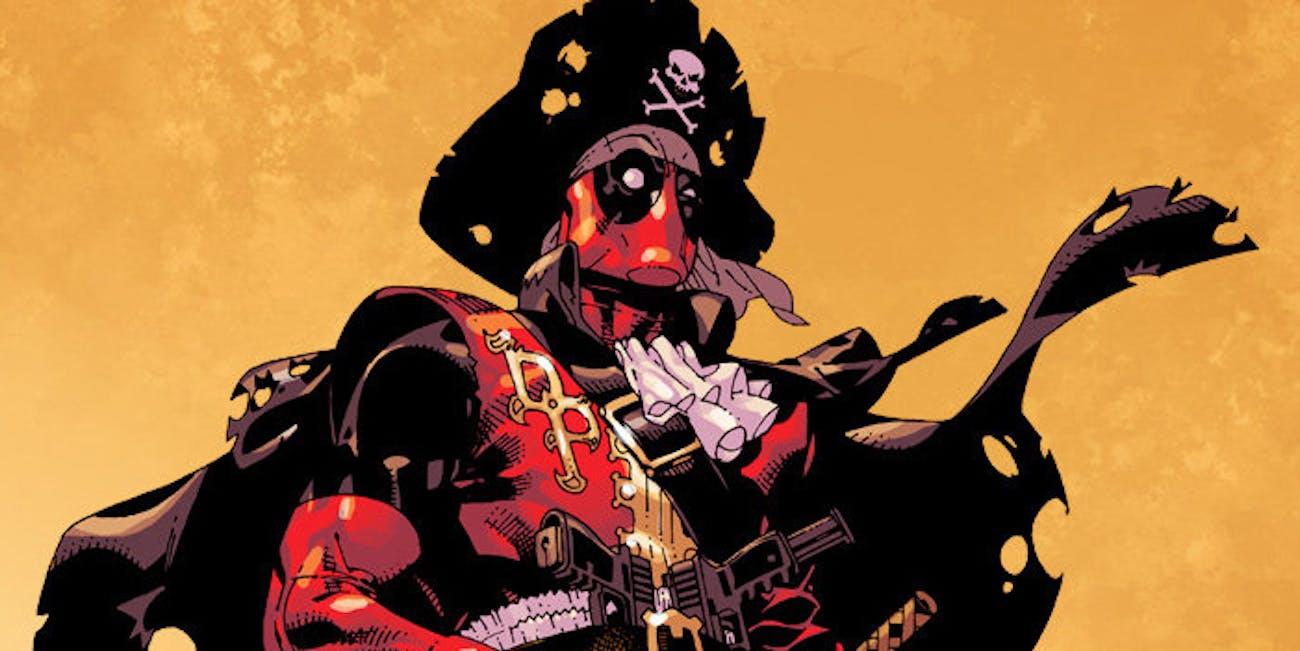 Deadpool Pirate