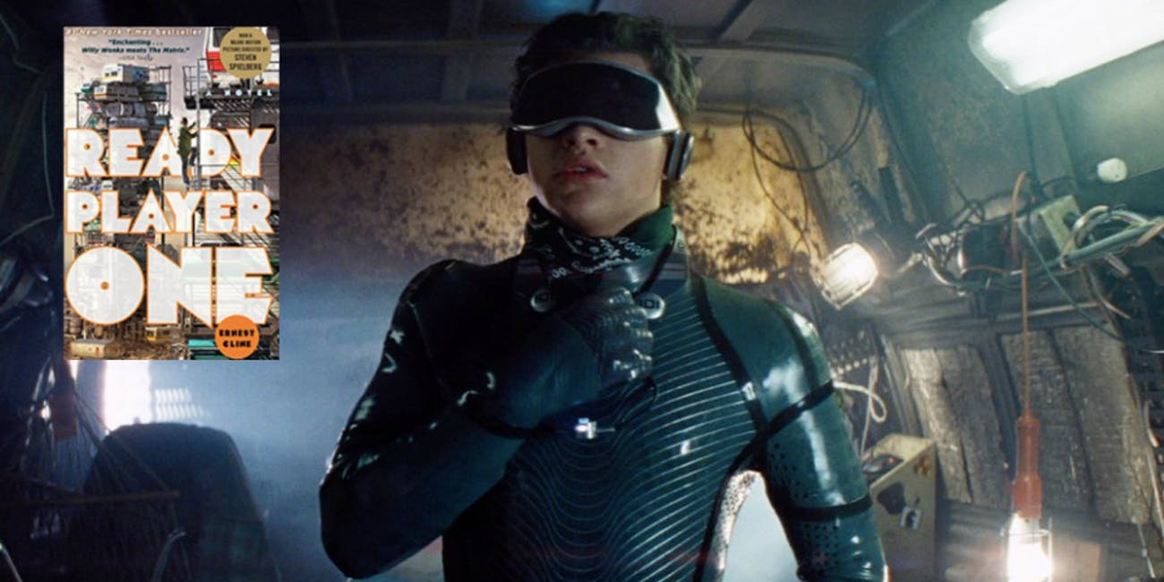Tye Sheridan as Wade Watts in 'Ready Player One'