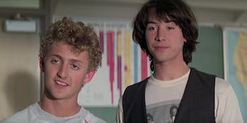 Bill and Ted 3 Excellent Adventure