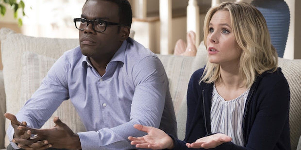 Chidi and Eleanor share our confusion.