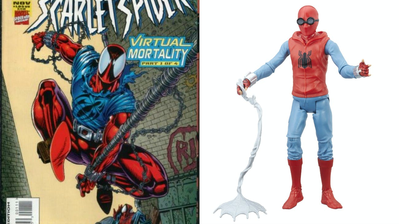 Spider Man Homecoming Toys Reveal Diy Suit From Civil War Inverse Spiderman Hasbro Scarlet