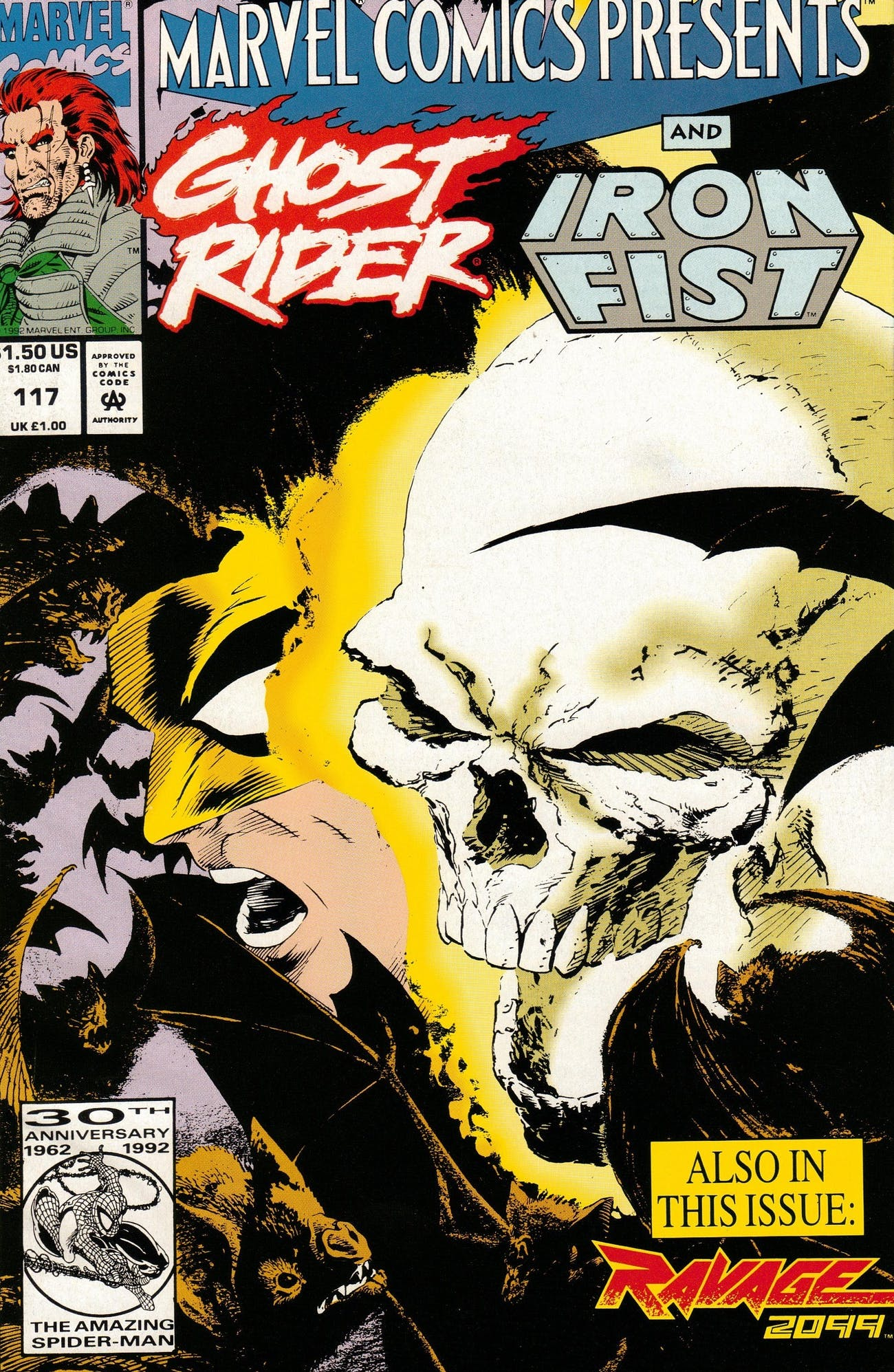 Iron Fist Ghost Rider