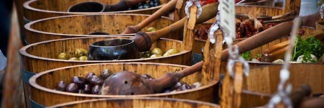 Bowls Of Olives
