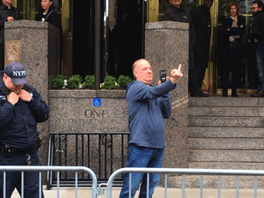 Trump Tower Troll Becomes Anti-Science March Poster Boy