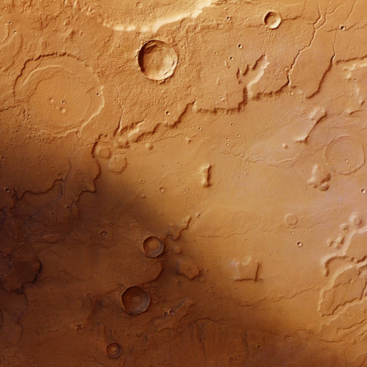 """Mars, a """"One-Plate Planet,"""" Was Once Soaked by a Global Groundwater System"""