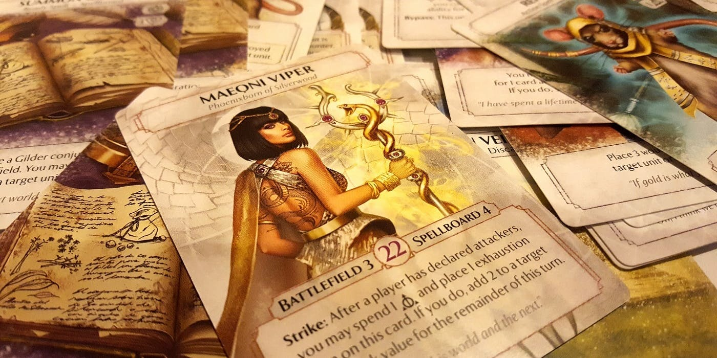 Ashes: Rise of the Phoenixborn Brings Dice to a Card Fight