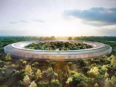The Apple Campus 2 Looks Incredible in This New Drone Footage