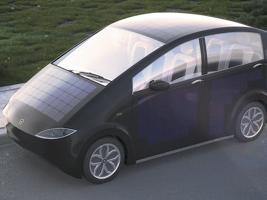 Solar Panels Are Moving from Rooftops to Cars