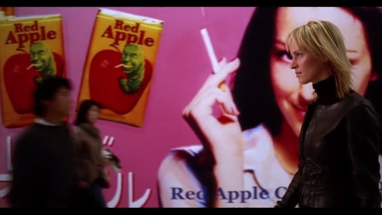 Red Apple Cigarettes in 'Kill Bill'