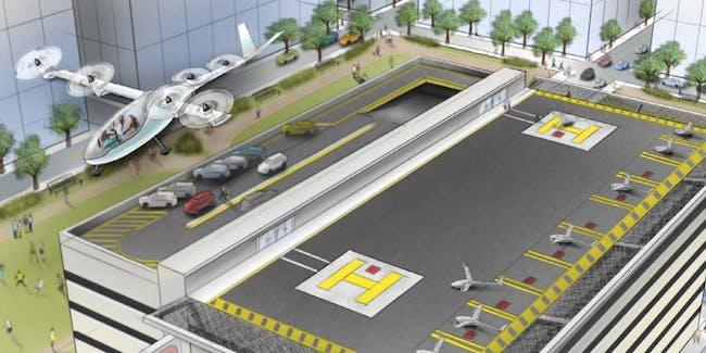UberAir announces partnerships with 5 major aerospace companies.