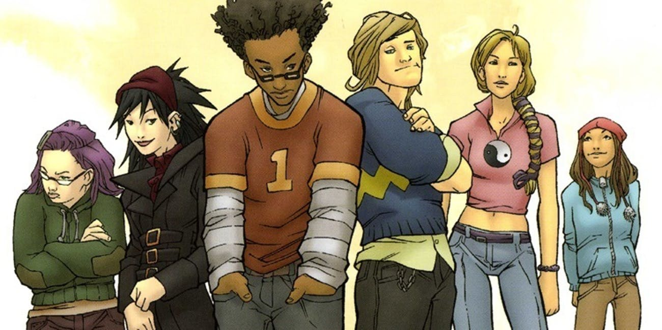 Runaways by Brian K. Vaughn for Marvel Comics
