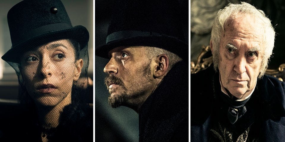 "Tom Hardy is up to no good in ""Taboo"""