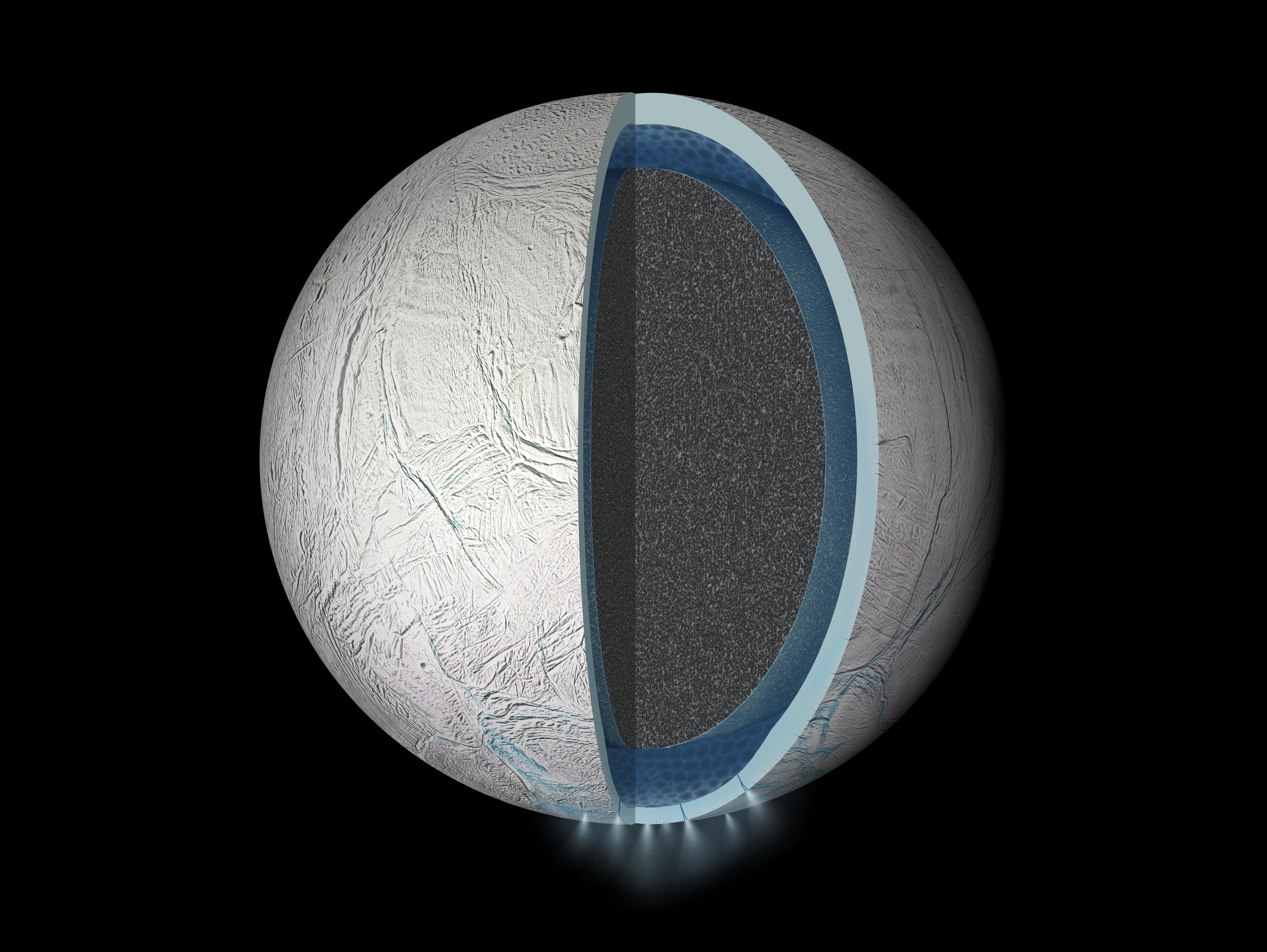 enceladus subsurface ocean