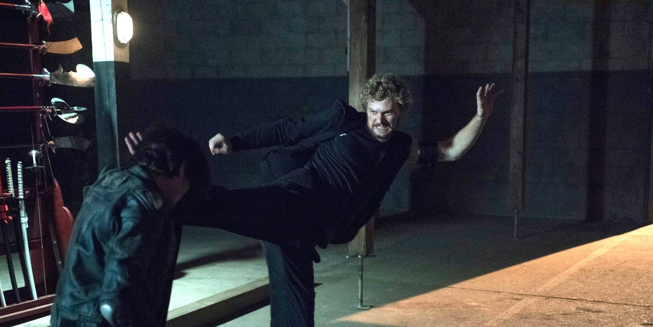 Finn Jones as Danny Rand in 'Iron Fist'