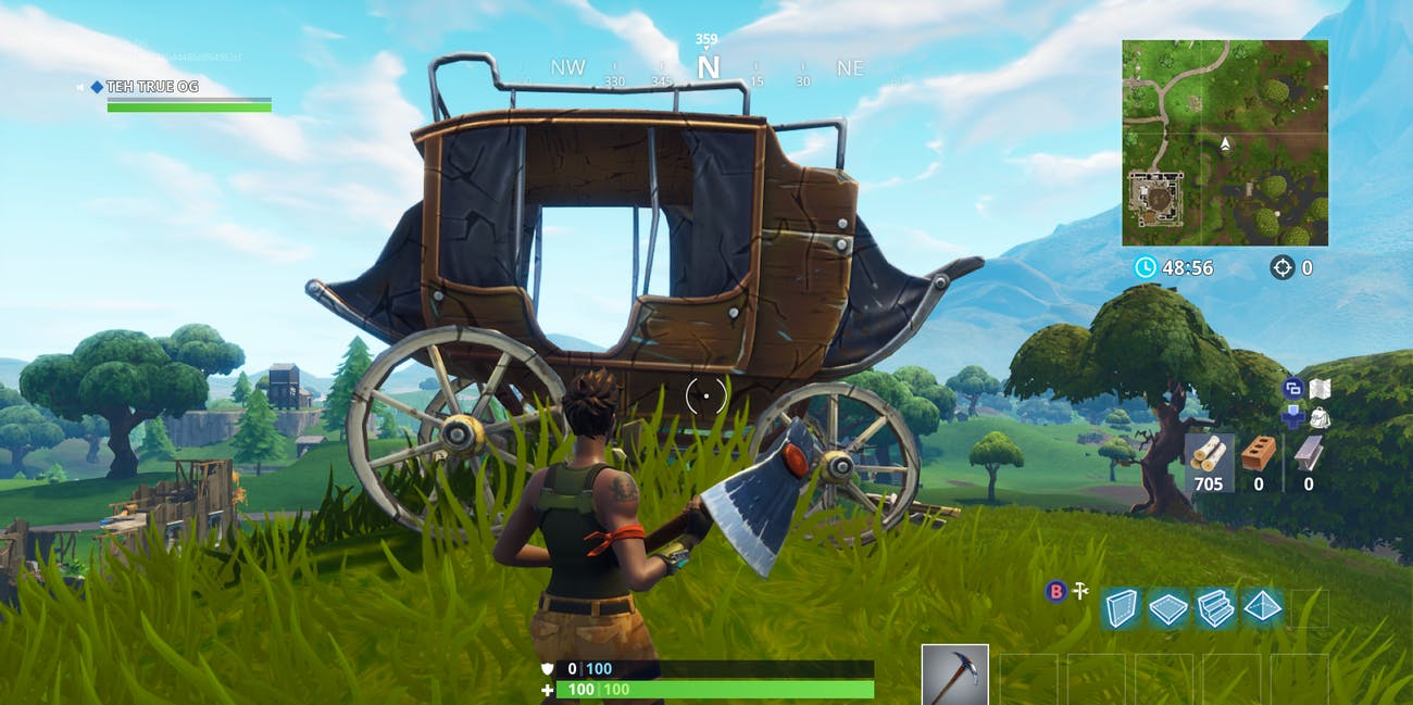 'Fortnite' Stage Coach