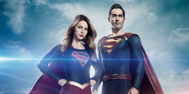 Superman and Supergirl on The CW's 'Supergirl'