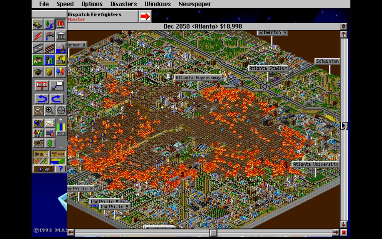 SimCity 2000' Teaches 2016 Urban Planners to Reconsider