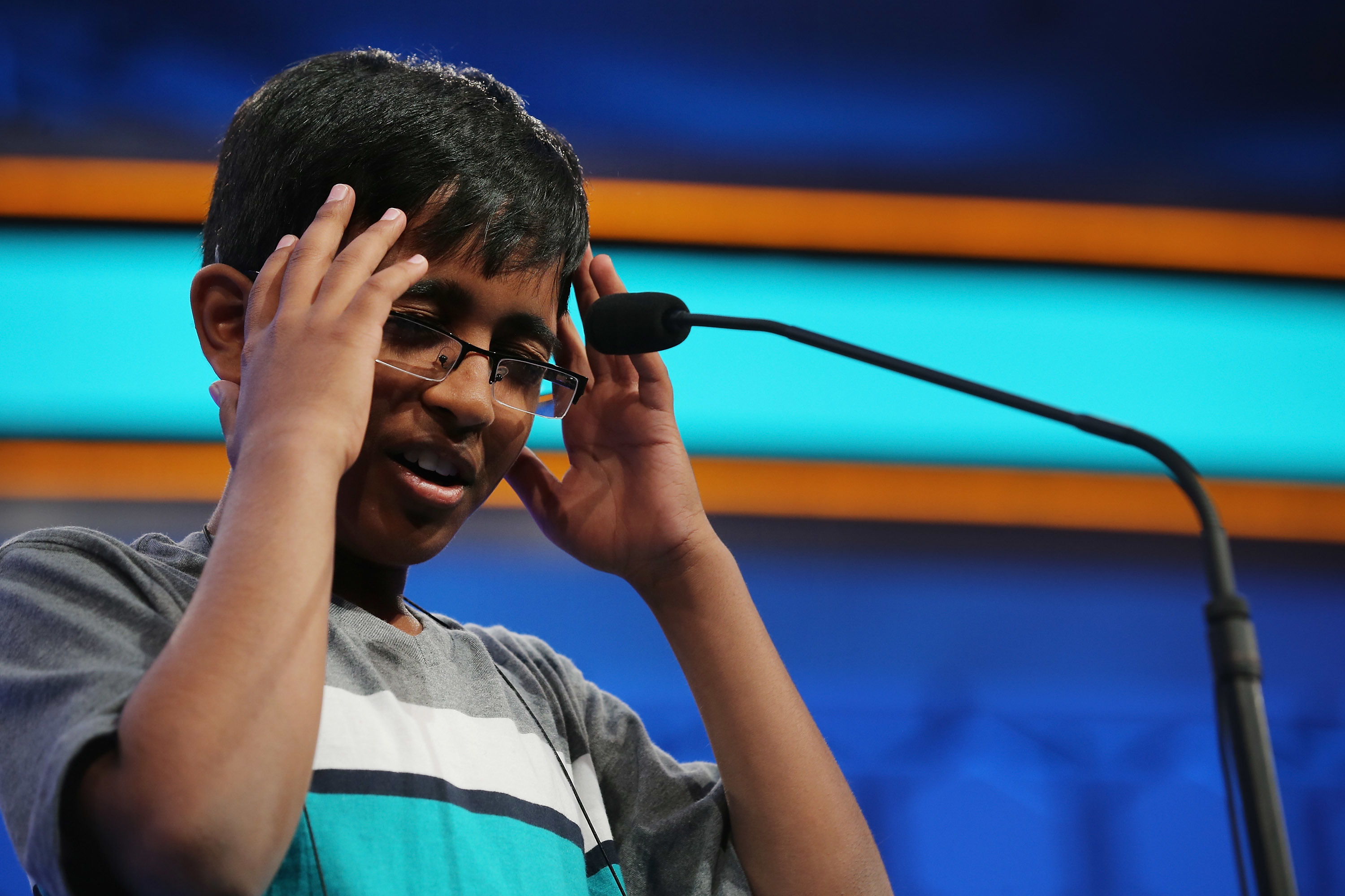 Smith Middle School student survives 2 rounds of national spelling bee