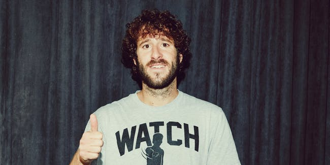 Dave Burd, aka Lil Dicky, aka LiDicky Ball, aka the independent variable, aka the Time Traveler's Wife
