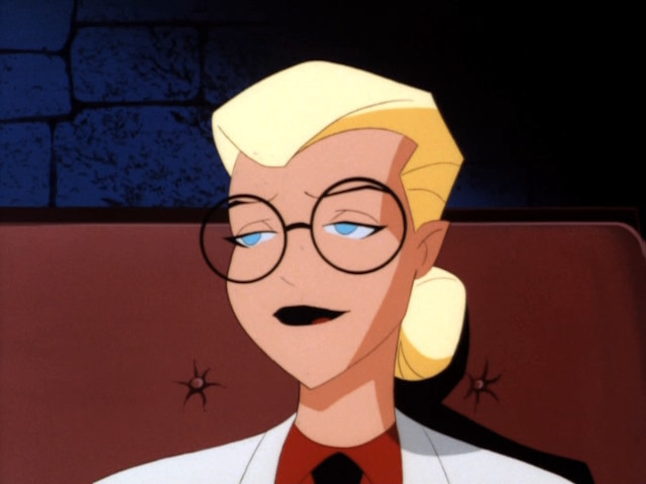 Harleen, as she originally appeared in 'Batman: The Animated Series'