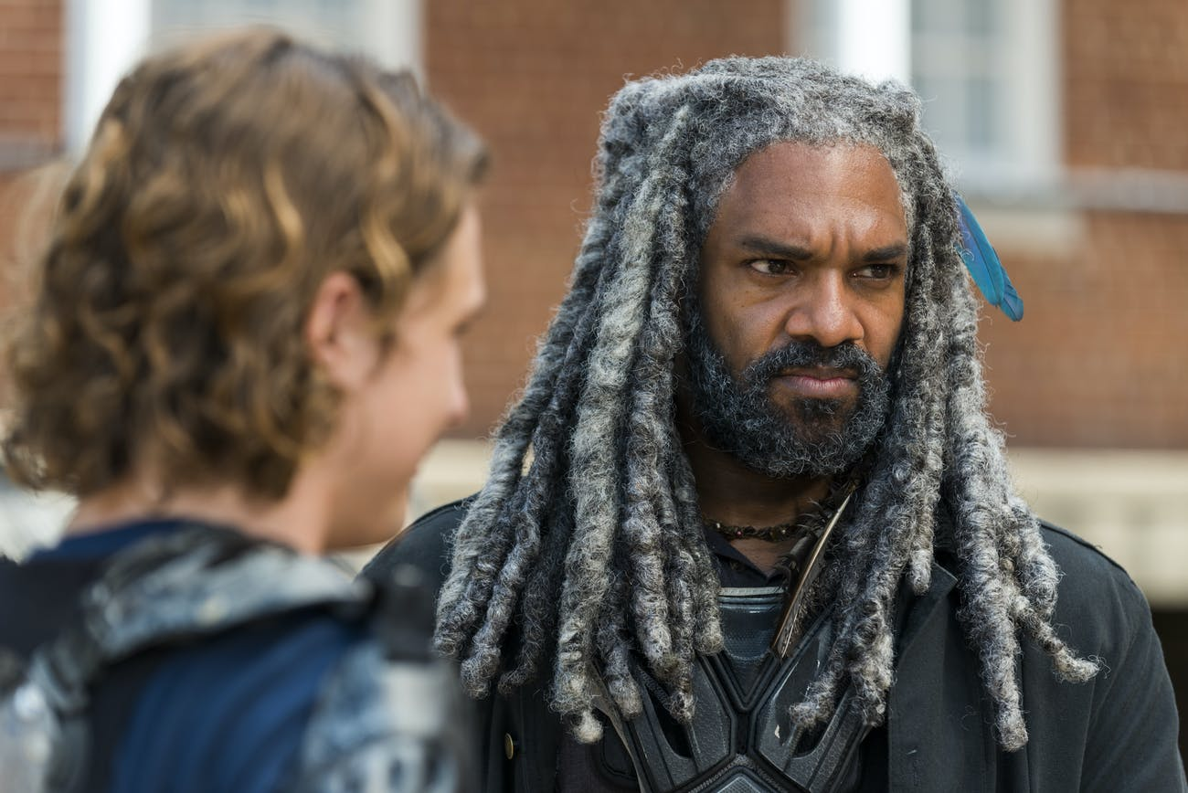 Ezekiel Walking Dead