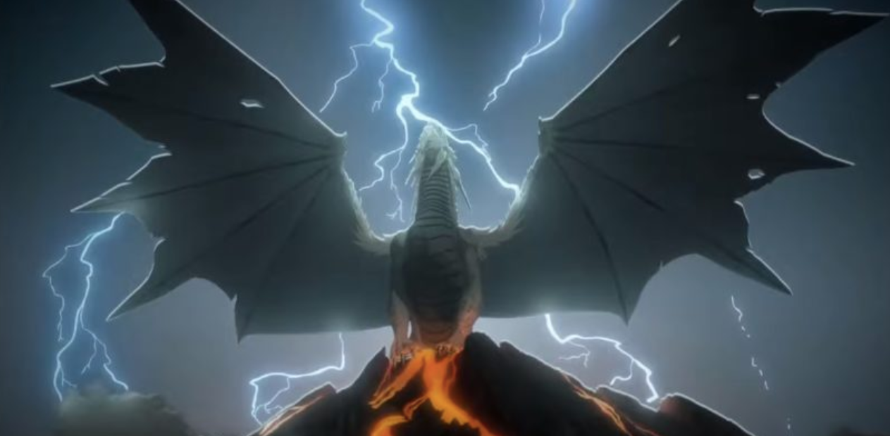 Dragon Epic Lightning Cool Backgrounds