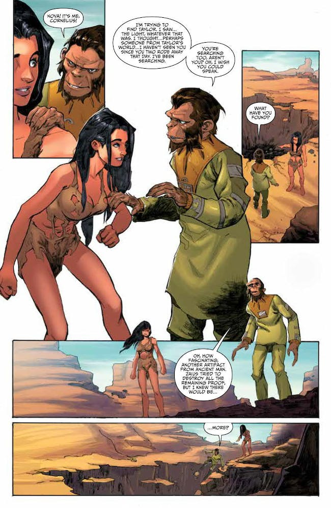 Green Lantern Planet of the Apes