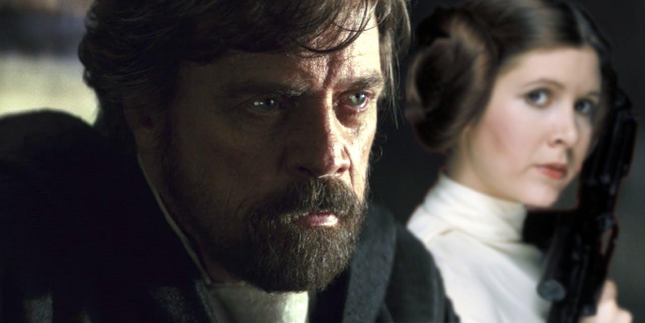 Mark Hamill as Luke Skywalker in 'The Last Jedi.'