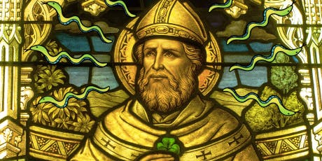 St. Patrick allegedly used saintly powers to drive snakes out of Ireland.
