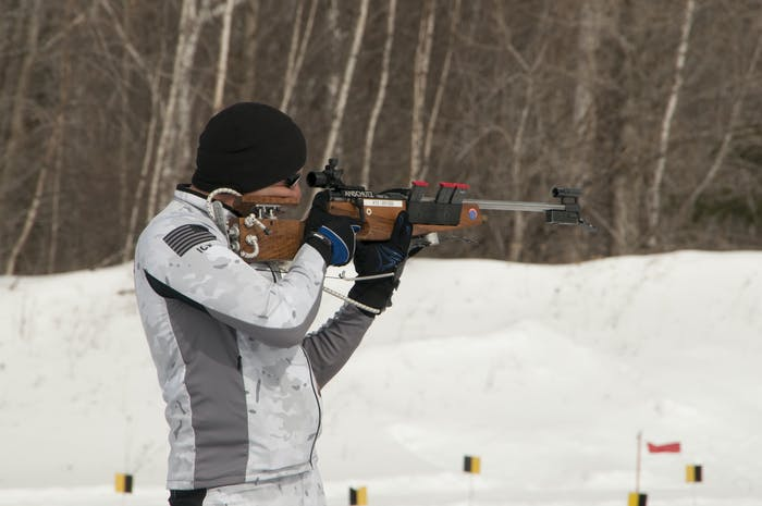 California National Guard Biathlon Team 2015