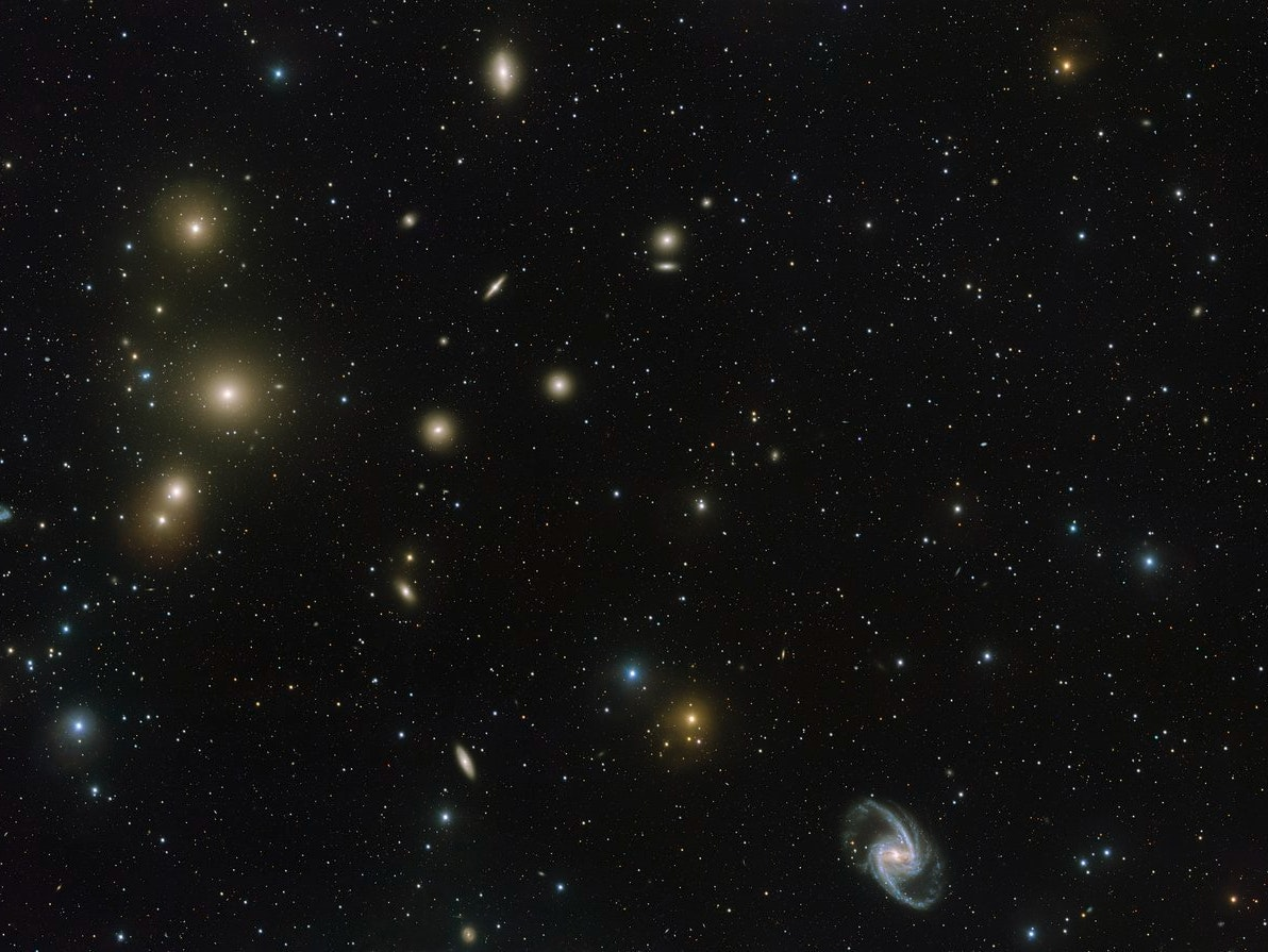 Groundbreaking New Photos of the Fornax Cluster Reveals a Cannibal Galaxy