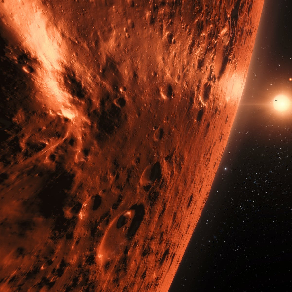 NASA's Hubble Stumbles on Signs of Water on TRAPPIST-1