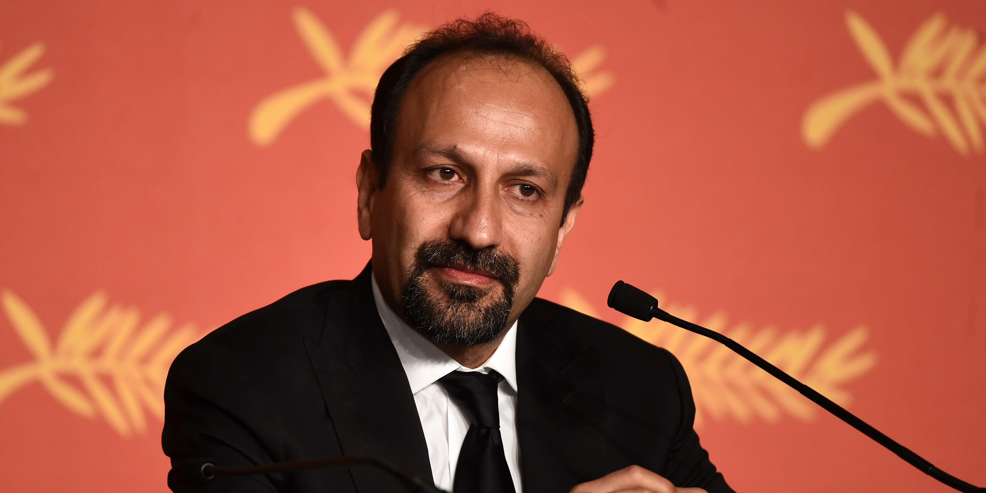 CANNES, FRANCE - MAY 22: Scriptwriter Asghar Farhadi, winner of the award for Best Script for the movie « The Salesman » , attends the Palme D'Or Winner Press Conference during the 69th annual Cannes Film Festival at the Palais des Festivals on May 22, 2016 in Cannes, France.  (Photo by Ian Gavan/Getty Images)