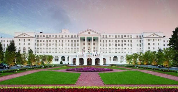 The Greenbrier Hotel in West Virginia