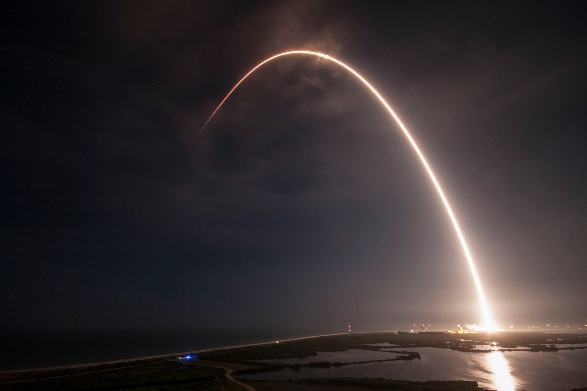 The last time Falcon 9 successfully launched was in August.  On Aug. 14, Falcon 9 delivered the JCSAT-16 spacecraft to a Geostationary Transfer Orbit about 36,000 km from Earth.