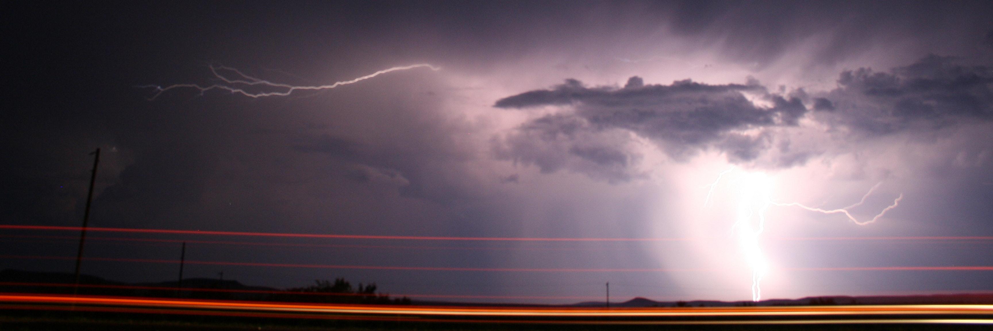 West Texas Lightning Storm