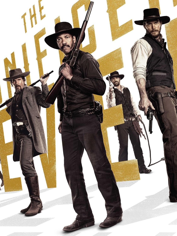 The 2016 remake of Magnificent Seven starring Denzel Washington, Chris Pratt, and Ethan Hawke